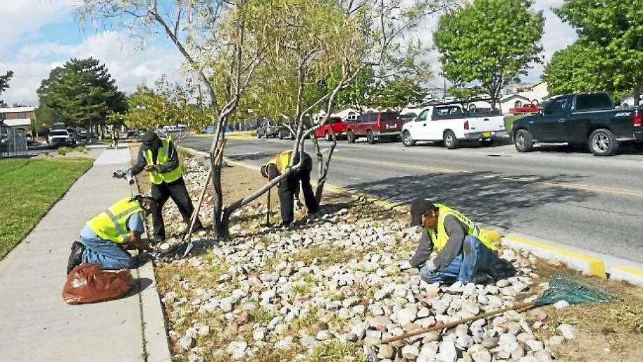 "Panhandlers are hired to beautify the city of Albuquerque, New Mexico. The city's ""Better Way"" program hires panhandlers for day jobs beautifying the city. More than 900 people have been put to work. Photo: City Of Albuquerque Mayor's Office   / The Washington Post"