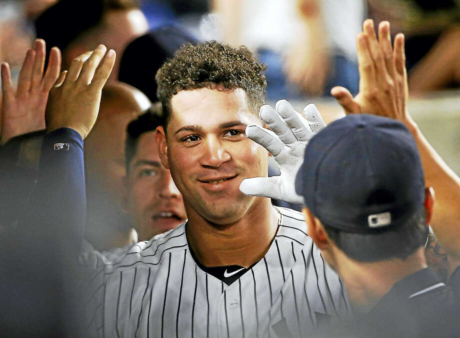 New York Yankees catcher Gary Sanchez. Photo: Kathy Willens — The Associated Press File   / Copyright 2016 The Associated Press. All rights reserved. This material may not be published, broadcast, rewritten or redistribu