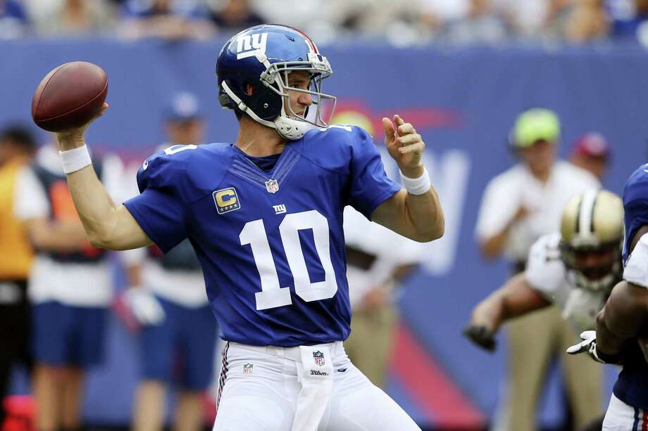 Giants quarterback Eli Manning. Photo: The Associated Press File Photo   / AP
