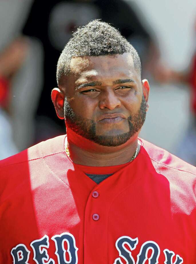 Pablo Sandoval in spring training. Photo: The Associated Press File Photo   / Copyright 2016 The Associated Press. All rights reserved. This material may not be published, broadcast, rewritten or redistribu