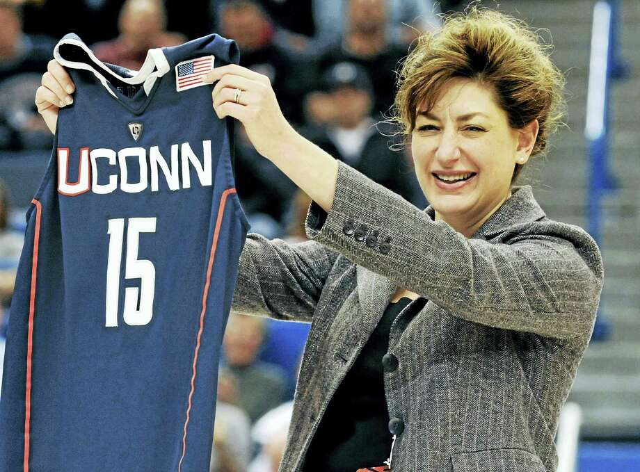 For president Susan Herbst and UConn, Register columnist Chip Malafronte says the proposed expansion in the Big 12 could be the Huskies last shot at joining a Power Five conference. Photo: The Associated Press File Photo   / AP2010