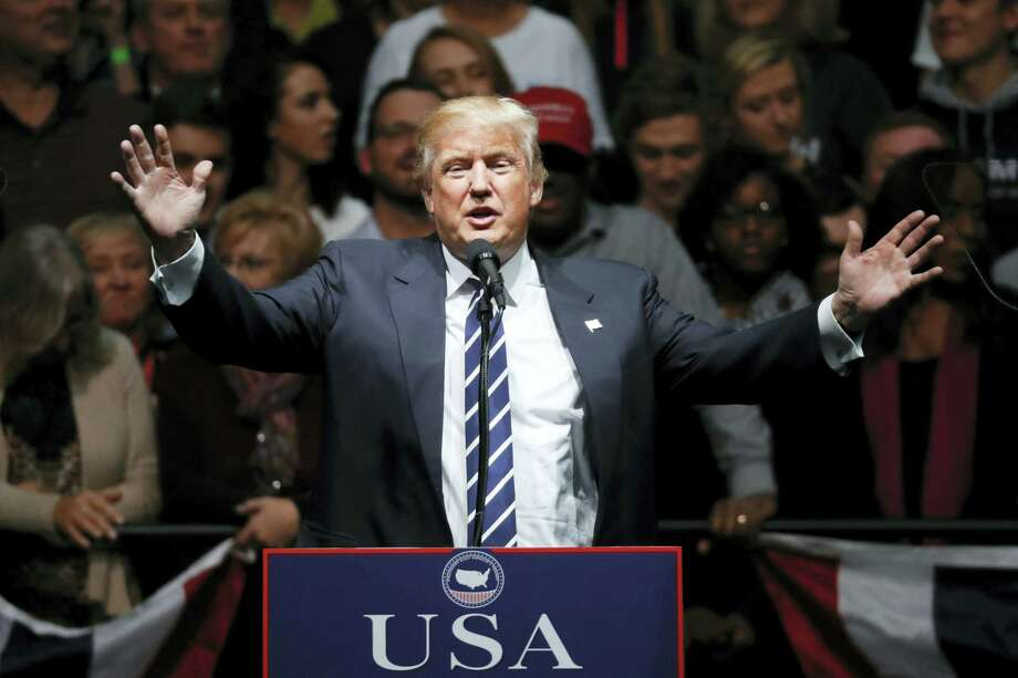 President-elect Donald Trump speaks to supporters during a rally, in Grand Rapids, Mich. Photo: Paul Sancya — AP Photo / Copyright 2016 The Associated Press. All rights reserved.