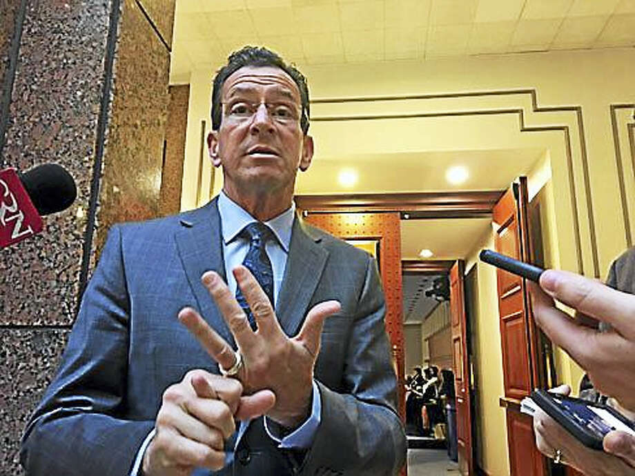 Gov. Dannel P. Malloy talks about what he's been able to do over the past six years. Photo: Christine Stuart — CT NEws Junkie
