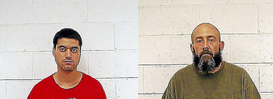 Jason Bolanos, left, and James Aspinwall Photo: SEYMOUR POLICE DEPARTMENT