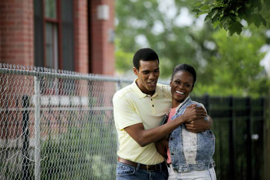 "This image released by Roadside Attractions shows Tika Sumpter, right, and Parker Sawyers in a scene from ""Southside With You."" Photo: Pat Scola/Miramax And Roadside Attractions Via AP   / Roadside Attractions"