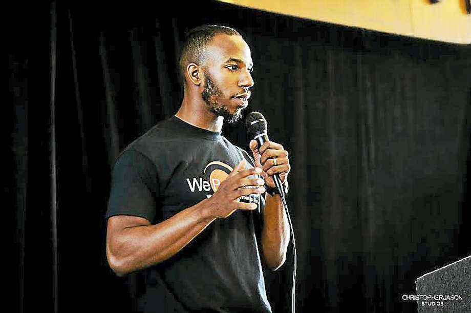 WeBuyBlack.com owner Shareef Abdul-Malik, largest an online marketplace for black-owned businesses and sellers. Photo: Journal Register Co. / WWW.CHRISTOPHERJASONSTUDIOS.COM