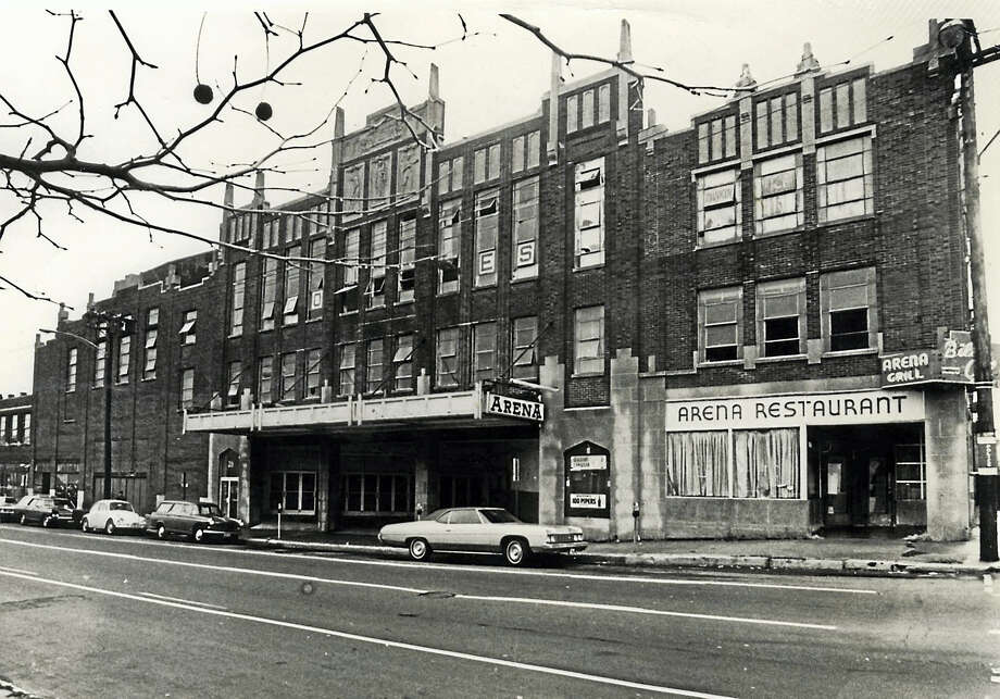 Arena Restaurant on Grove Street in New Haven. Photo: Journal Register Co.