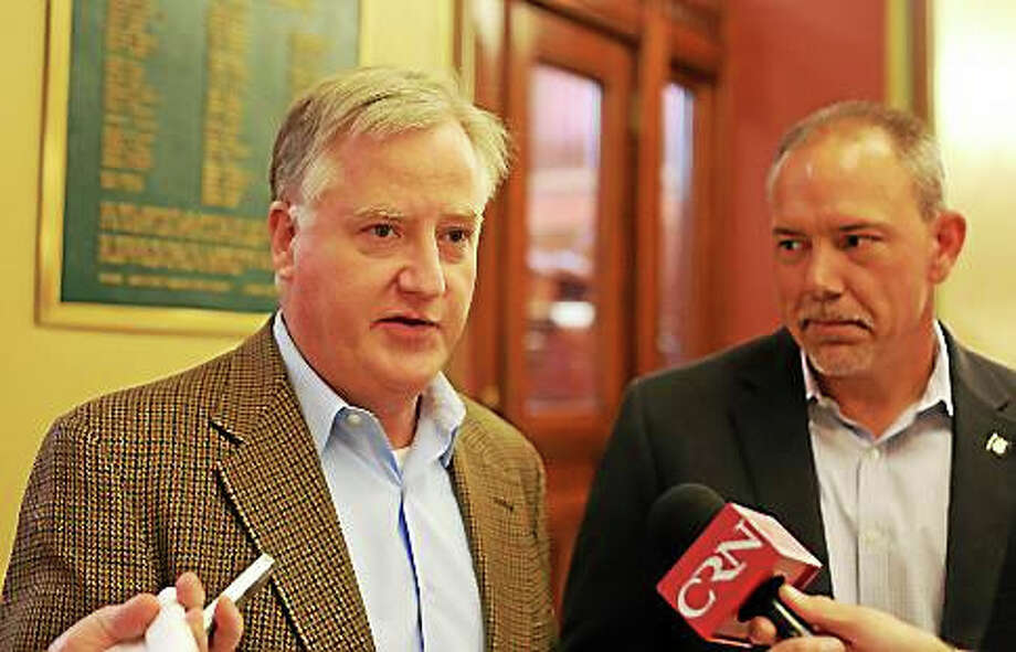 Brendan Sharkey and Joe Aresimowicz. Photo: Christine Stuart — Ctnewsjunkie.com