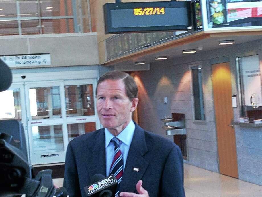 U.S. Sen. Richard Blumenthal Photo: Ed Stannard — New Haven Register