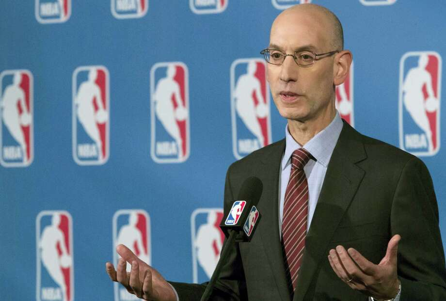 NBA commissioner Adam Silver. Photo: Mary Altaffer — The Associated Press   / Copyright 2016 The Associated Press. All rights reserved.