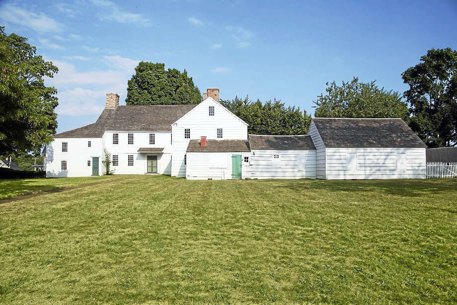 The Pardee-Morris House lawn. Photo: Contributed