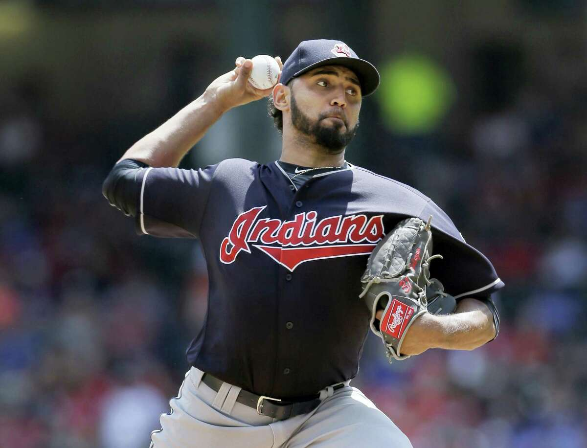 Cleveland Indians starting pitcher Danny Salazar.