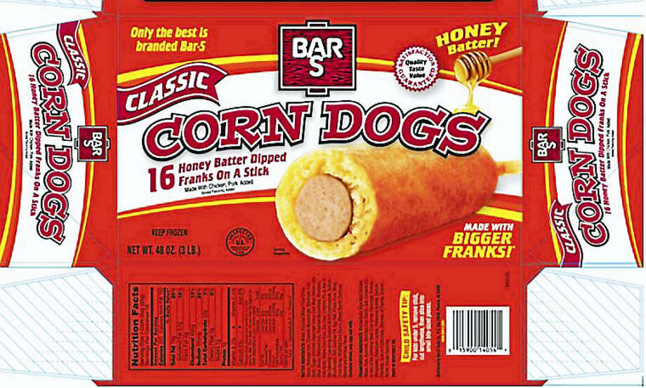 Bar-S Foods Company is recalling more than 372,000 pounds of hot dogs and corn dogs sold nationwide amid concerns they might be contaminated with listeria. The USDA released images of the labels of the affected products Wednesday. Photo: Photos Courtesy Of The USDA