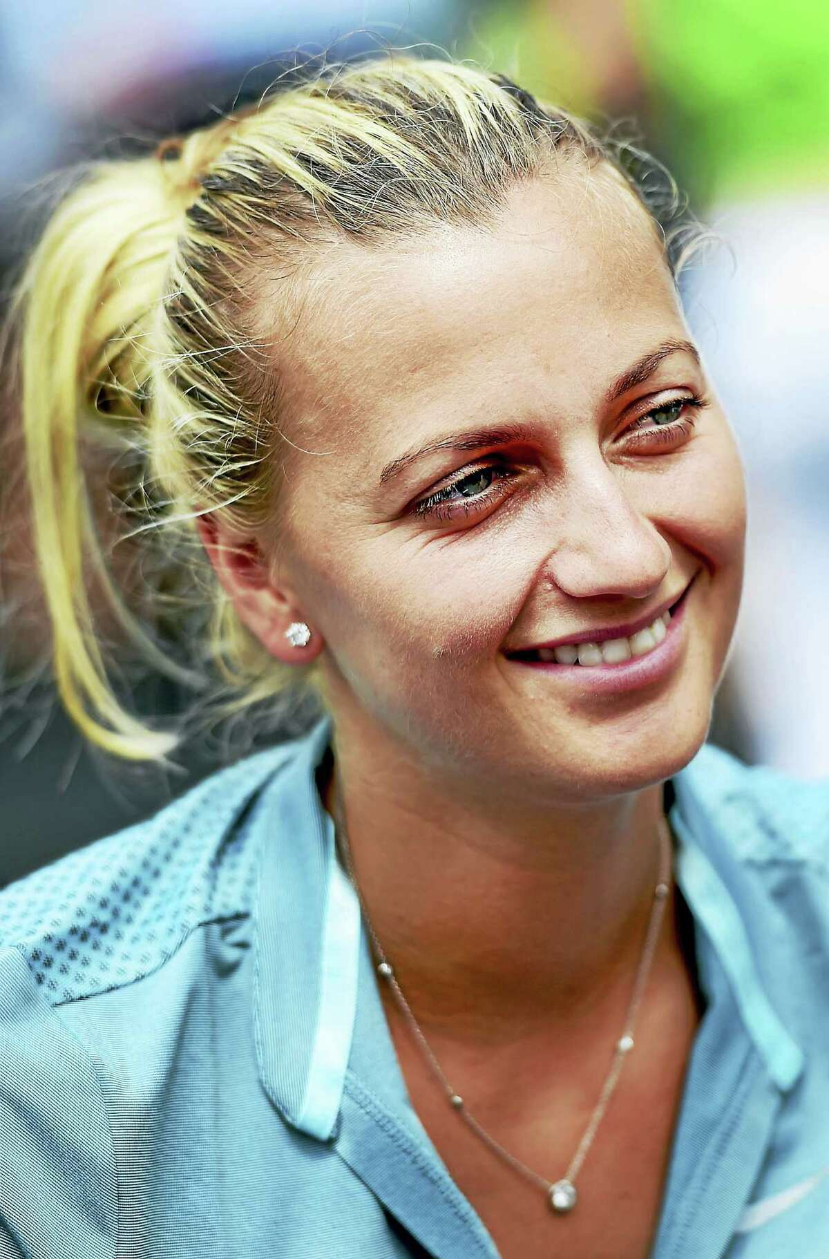 Petra Kvitova is seeking her third consecutive Connecticut Open title this week.