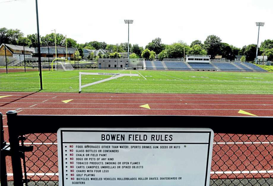 Bowen Field in New Haven Wednesday. Photo: Peter Hvizdak — New Haven Register   / ©2016 Peter Hvizdak