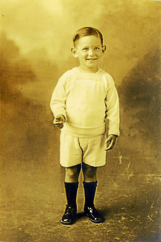 Norman Lear, circa 1920s, in New Haven. Photo: Photo Courtesy Of PBS   / 008Framed_Photos004.jpg