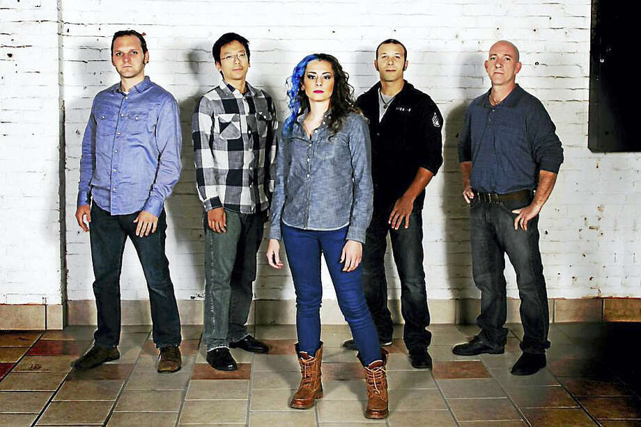 Audra Ciarleglio, center, and the band Chaser Eight. Photo: Contributed Photo