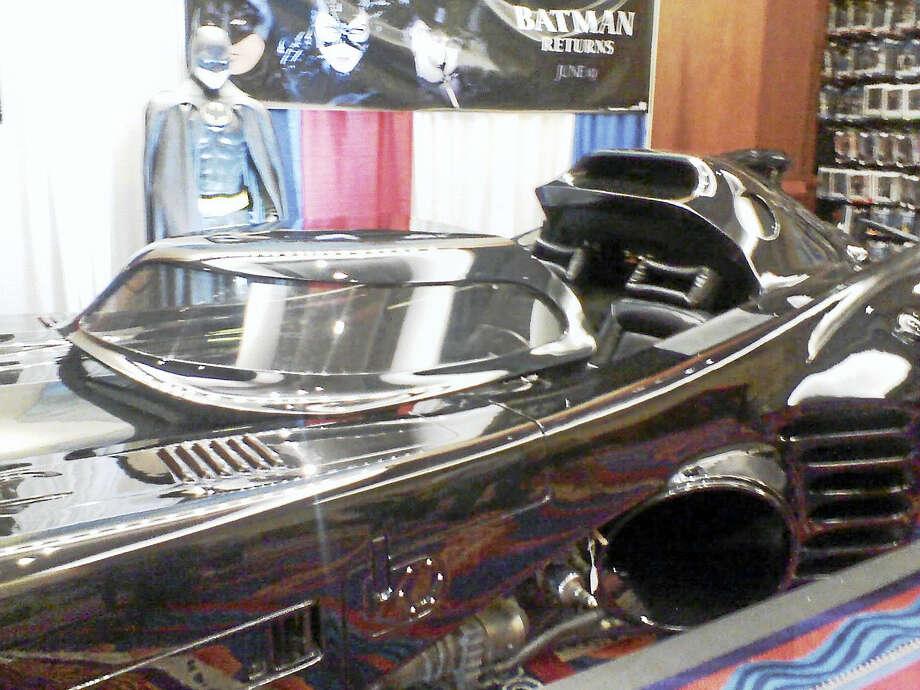 "Batman's car at ""Terrificon."" Photo: Jo Ferraro Photo"