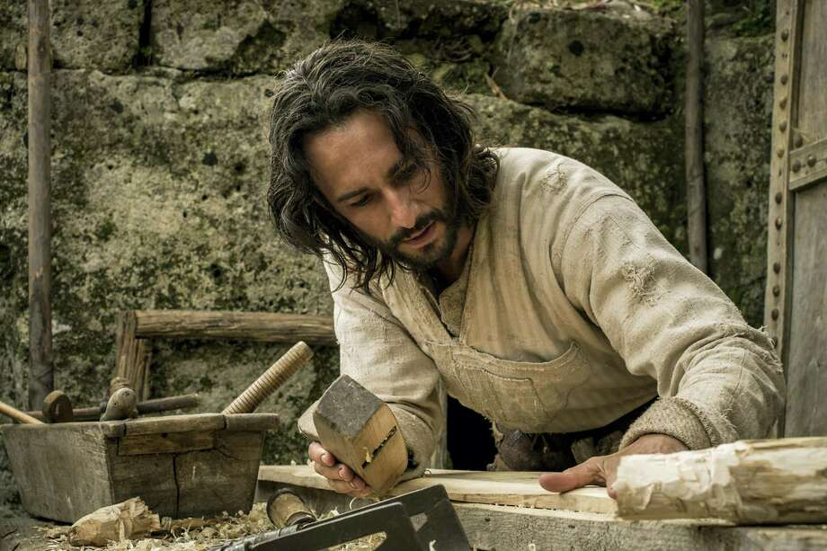 """This image released by Paramount Pictures shows Rodrigo Santoro portraying Jesus in a scene from """"Ben-Hur."""" The big-budget remake of 'Ben-Hur' was trampled under a herd of holdovers and new releases at the box office, the latest casualty in a bruising summer for Hollywood. Photo: Philippe Antonello/Paramount Pictures Via AP, File   / © 2016 Paramount Pictures and Metro-Goldwyn-Mayer Pictures Inc. All Rights Reserved."""
