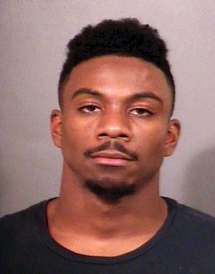 This photo released by the St. Joseph County Jail shows Notre Dame cornerback Devin Butler. Butler was jailed Saturday after an altercation outside the Linebacker Lounge in South Bend, Indiana. Photo: St. Joseph County Jail  Via AP   / St. Joseph County Jail