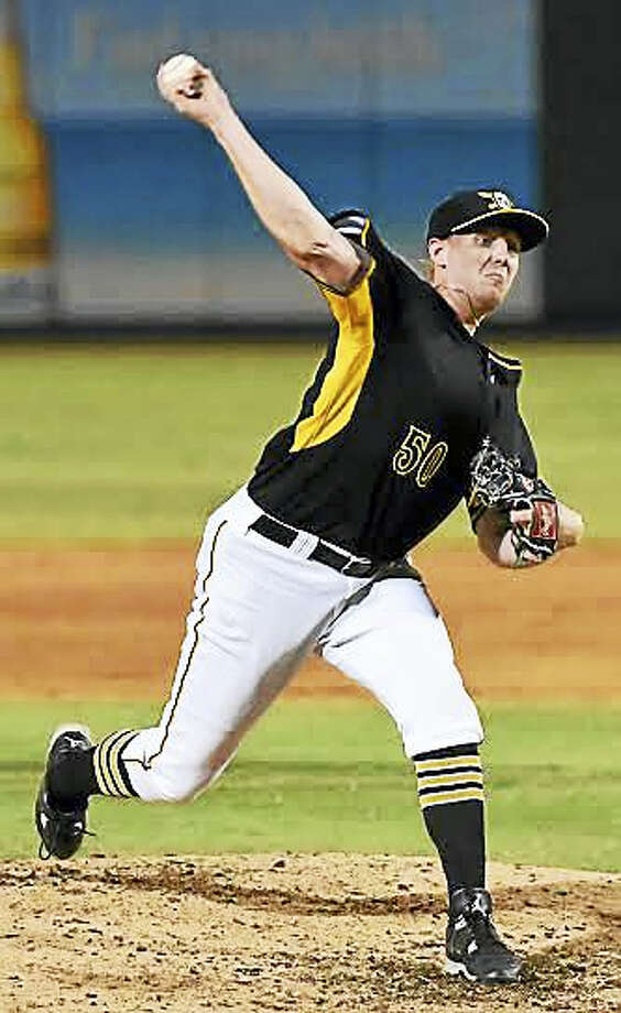 UNH product Henry Hirsch didn't allow a run for nearly seven weeks with High-A Bradenton. Photo: Marty Morrow — A Plus Pro Photo