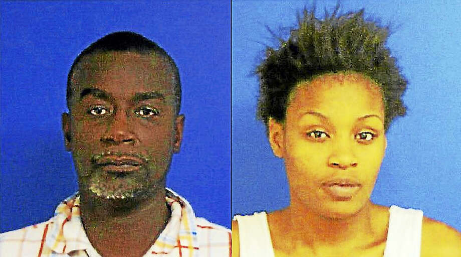 Gregory Atkinson, left, and Jeffon Suggs Photo: EAST HAVEN POLICE DEPARTMENT