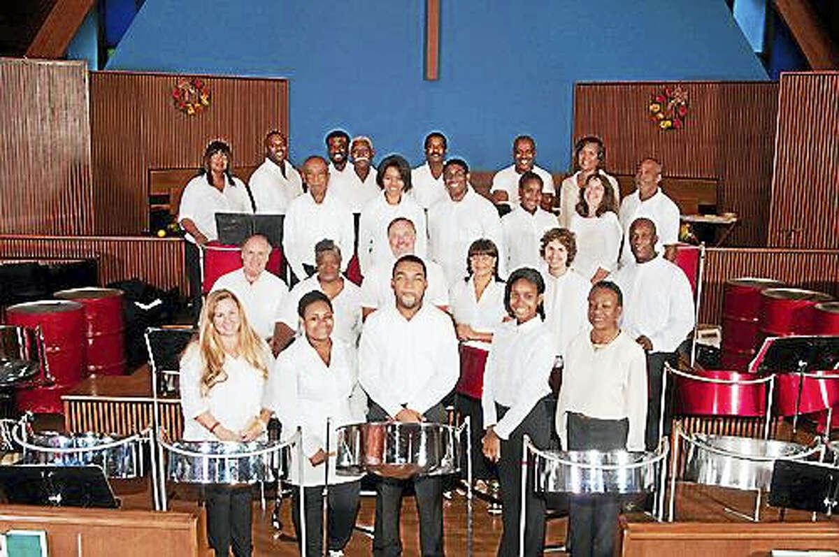 The St. Luke's Steel Band.