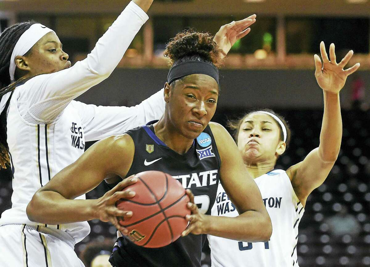 Kansas State forward Breanna Lewis.