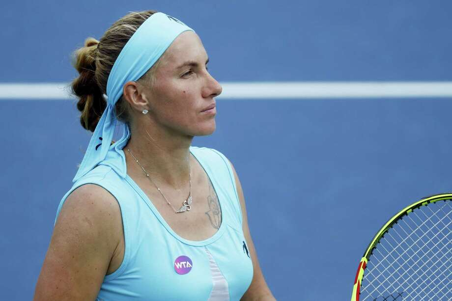 Svetlana Kuznetsova withdrew from the Connecticut Open on Friday with a shoulder injury. Photo: The Associated Press File Photo   / AP