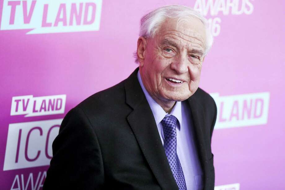 "In this April 10, 2016 file photo, Garry Marshall arrives at the 2016 TV Land Icon Awards at Barker Hangar in Santa Monica, Calif. Writer-director Marshall, whose TV hits included ""Happy Days"" ""Laverne & Shirley"" and box-office successes included ""Pretty Woman"" and ""Runaway Bride,"" has died at age 81. Publicist Michelle Bega says Marshall died Tuesday, July 19, 2016, in at a hospital in Burbank, Calif., of complications from pneumonia after having a stroke. Photo: Photo By Rich Fury/Invision/AP, File / Invision"