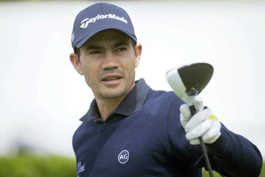 In this April 14, 2016 photo, Camilo Villegas, of Colombia, prepares to tee off on the first hole during the first round of the RBC Heritage golf tournament in Hilton Head Island, S.C. Villegas has pulled out of the Olympics because he is trying to keep his job on the PGA Tour. Photo: AP Photo/Stephen B. Morton, File   / FR56856 AP