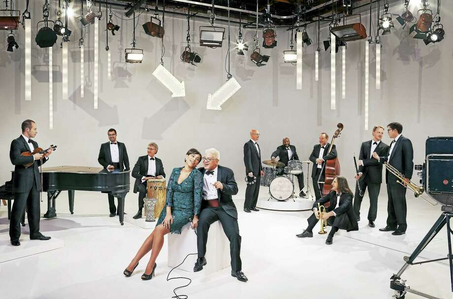 China Forbes and Thomas Lauderdale, center, with Pink Martini. Photo: Contributed