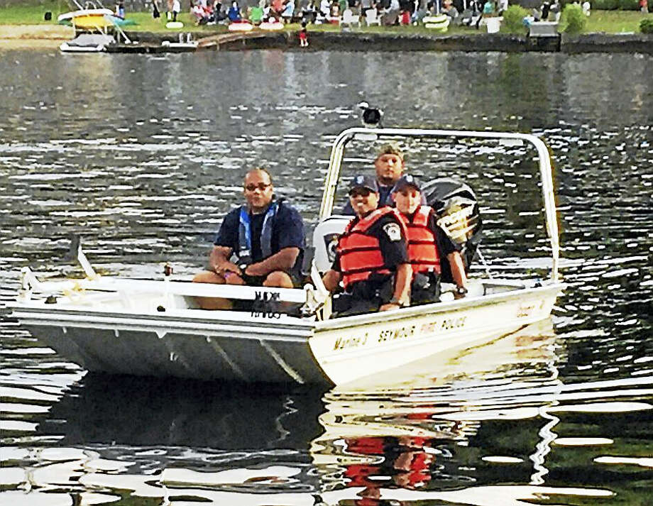 Seymour's new rescue boat. Photo: CONTRIBUTED PHOTO — DEPUTY POLICE CHIEF PAUL SATKOWSKI