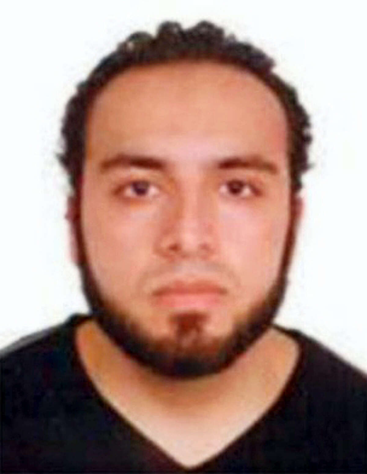 This undated photo provided by the FBI shows Ahmad Khan Rahami, wanted for questioning in the bombings that rocked a New York City neighborhood and a New Jersey shore town was taken into custody on Sept. 19, 2016 after a shootout with police in New Jersey, a law enforcement official told The Associated Press.
