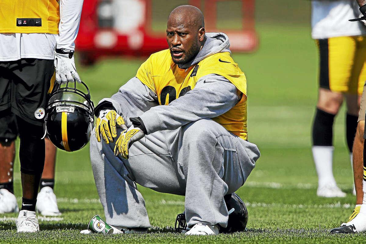 Pittsburgh Steelers linebacker James Harrison.