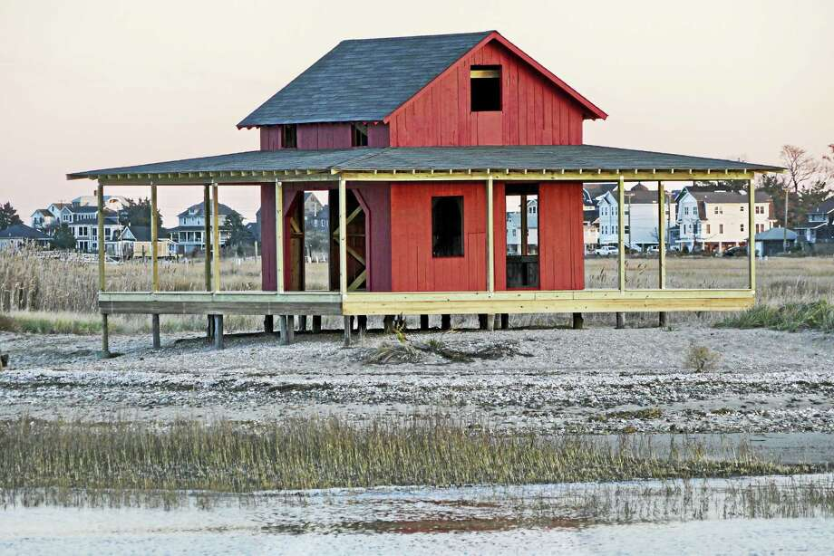 The iconic Red Shack in Guilford is just like new. Photo: Photo By Barry Schlosser   / barry schlosser