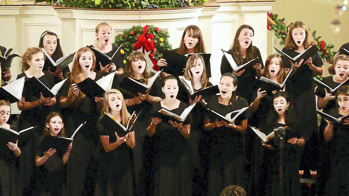 The Elm City Girls' Choir will perform with the New Haven Symphony Orchestra pops.