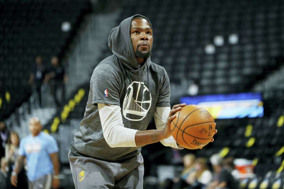 Golden State Warriors forward Kevin Durant. Photo: David Zalubowski — The Associated Press   / Copyright 2016 The Associated Press. All rights reserved.