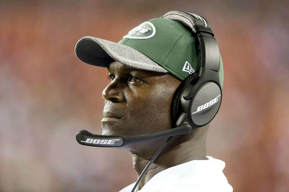 New York Jets head coach Todd Bowles. Photo: The Associated Press File Photo   / FR170908 AP