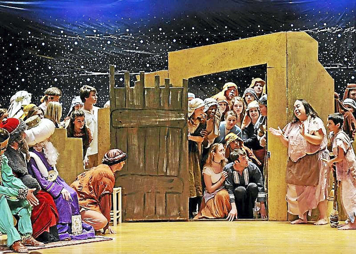 """A scene from """"Amahl and the Night Visitors."""""""