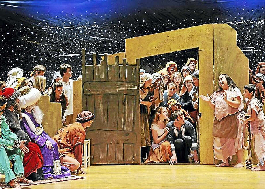 """A scene from """"Amahl and the Night Visitors."""" Photo: Contributed"""