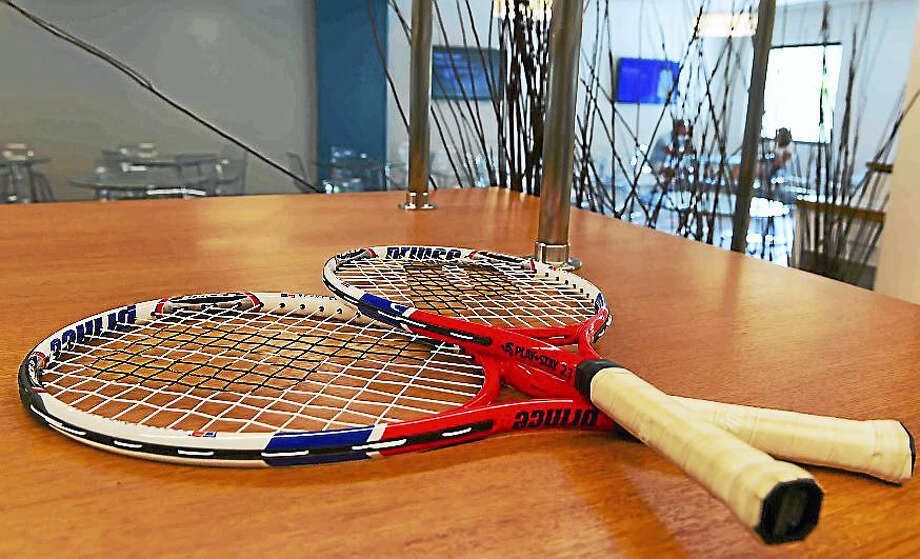 New features at the renovated Player Center at the Connecticut Tennis Center at Yale in New Haven were unveiled Tuesday. The renovation is the first major investment in stadium infrastructure in the center's history. Photo: Photo By Peter Hvizdak — The New Haven Register