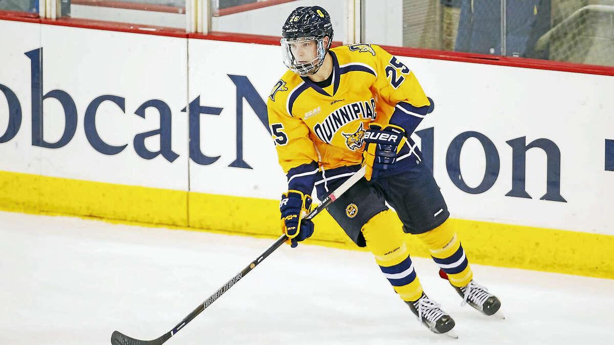 Quinnipiac defenseman Brogan Rafferty is already drawing interest from NHL scouts during his freshman season with the program.