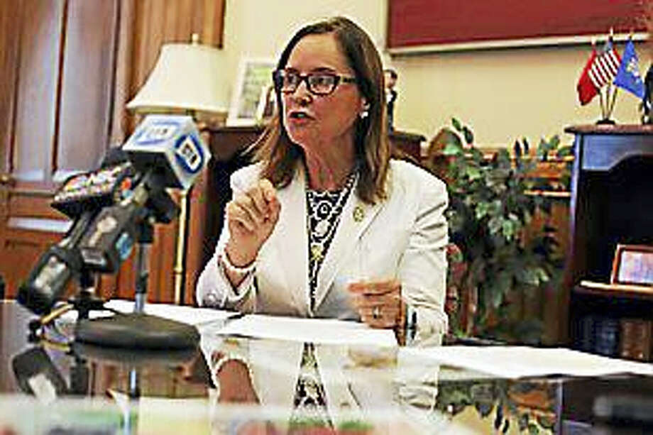 Secretary of the State Denise Merrill Photo: CHRISTINE STUART — CTNEWSJUNKIE.COM