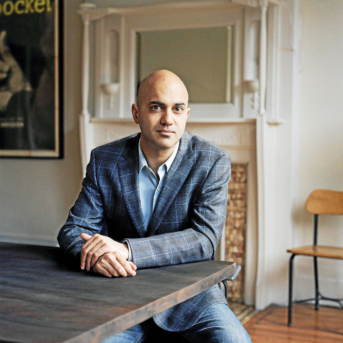 """Ayad Akhtar, director of """"The Invisible Hand."""""""