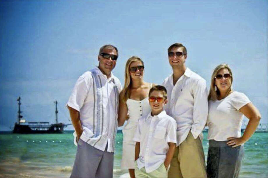 This photo provided by Jess Davis shows the Copeland family, from left, Sean, Maegan, Brodie, Austin and Kim. Davis, a family friend, said Sean Copeland and his son Brodie were killed Thursday, July 14, 2016 when a Frenchman of Tunisian descent drove a truck through crowds celebrating Bastille Day along Nice's beachfront, killing at least 84 people. Photo: Courtesy Of Jess Davis Via AP / Jess Davis
