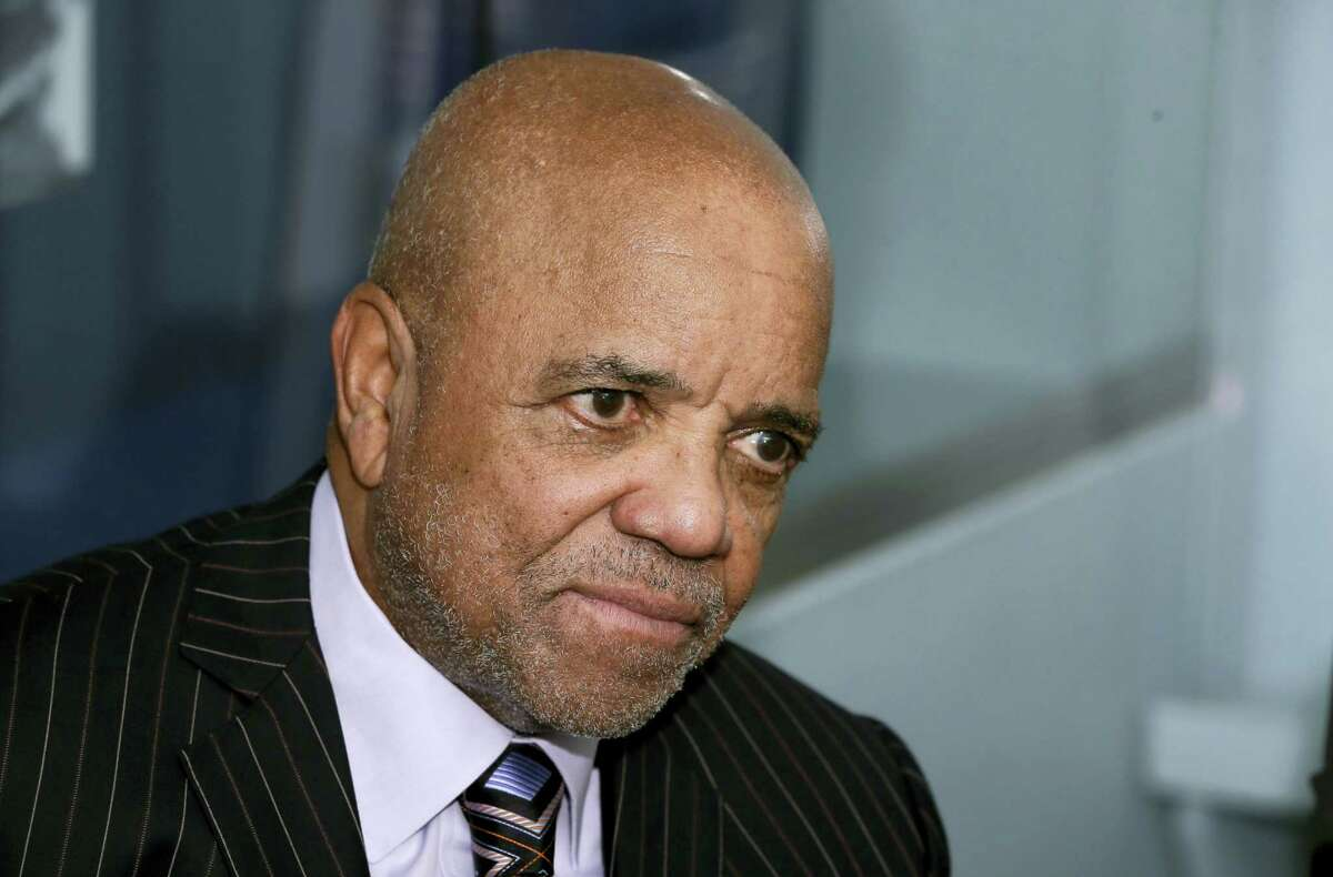 In this Oct. 21, 2014 photo, Motown Records founder Berry Gordy appears during an interview at the Motown Museum in Detroit. The Motown Museum is planning an expansion that will include interactive exhibits, a performance theater and recording studios. The Motown Museum is located in the house where Gordy launched a cultural and commercial music empire.