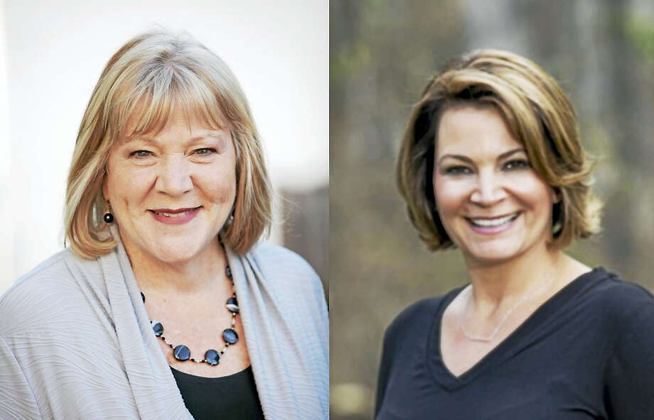 Theresa Conroy and Nicole Klarides-Ditria Photo: Digital First Media / Nicole Alekson Photography