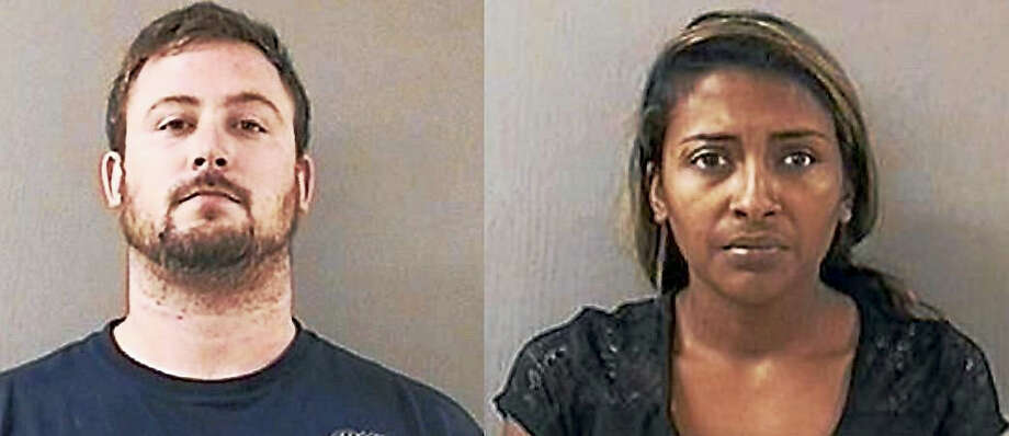 Michael Badgley and Lynze Khan Photo: Courtesy Of Wallingford Police Department