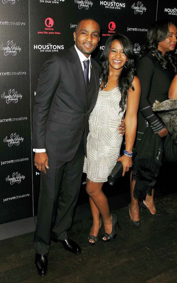 """This Oct. 12, 2012, file photo shows Nick Gordon and Bobbi Kristina Brown attending the premiere party for """"The Houstons On Our Own"""" at the Tribeca Grand hotel in New York.  A judge in Atlanta on Friday, Sept. 16, 2016,  ruled against Gordon, in a wrongful death lawsuit filed by her estate. Fulton County Superior Court Judge T. Jackson Bedford signed an order saying Gordon repeatedly failed to meet court deadlines in the case and, therefore, the conservator of her estate wins by default. Photo: Photo By Donald Traill/Invision/AP,File    / A2012"""